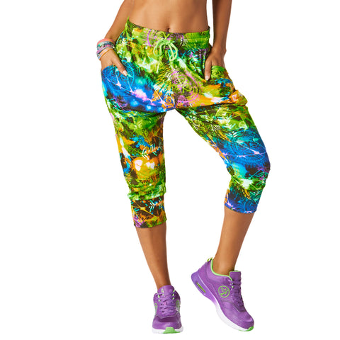 Rock Out Capri Harem Dance Pants