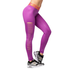 Zumba Party Slashed Ankle Leggings