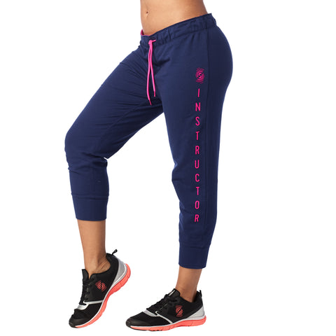 Strong By Zumba Cropped Skinny Sweatpants