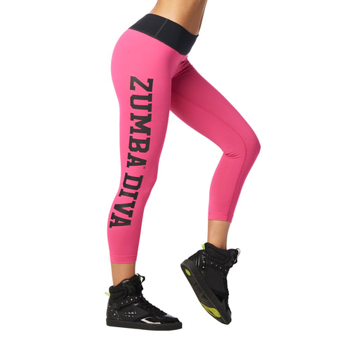 Zumba Diva Crop Leggings