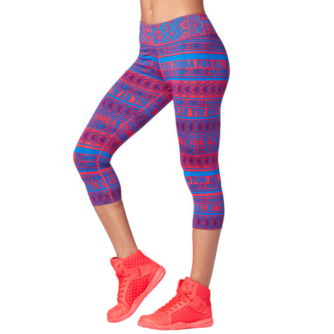 Zumba For All By All Capri Leggings