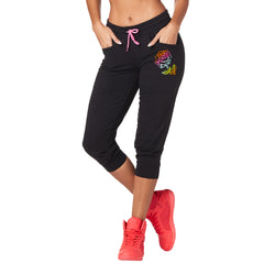 I Am Zumba Crop Sweatpants
