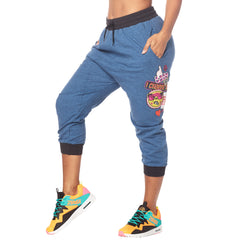 Zumba Fierce Female Cropped Harem Pants