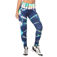 Tie Dye For Zumba High Waisted Long Leggings