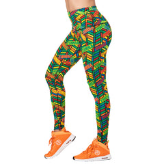 Zumba All Star High Waist Ankle Leggings