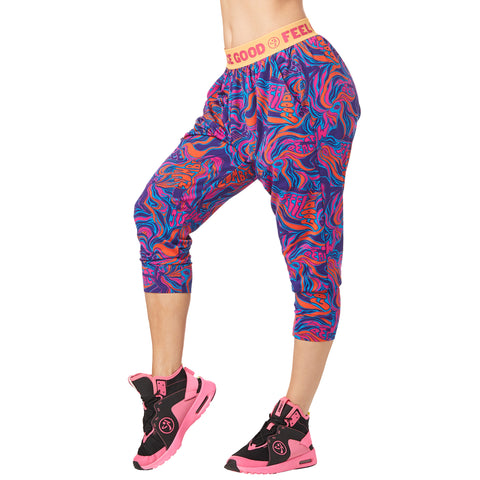 Feel Good Dance Good Harem Capri Pants