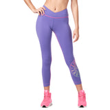 Zumba Original V High Waisted Instructor Crop Leggings