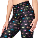 Zumba Luck High Waisted Ruched Leggings