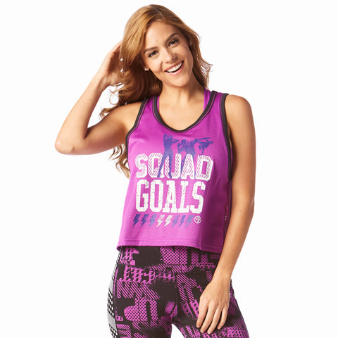 Squad Goals Cropped Jersey