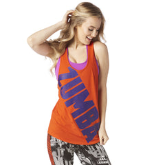 Zumba Burn it Up Loose Tank