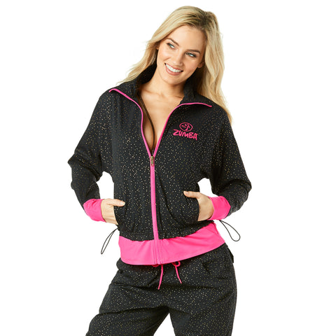 Fast Beats Instructor Zip Up Cardigan