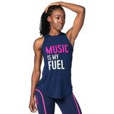 Music Is My Fuel Instructor Tight Tank