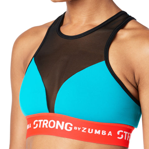 Squat Sync Sweat High Neck Bra