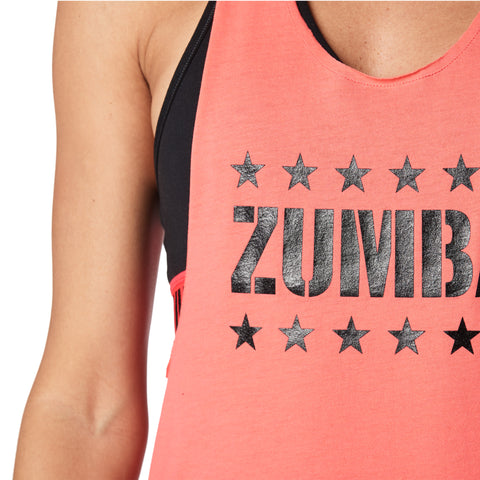 Zumba Instructor Ripped Loose Tank