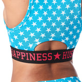Happiness Hustler High Neck Bra