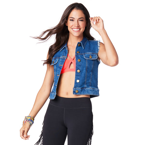Zumba For All Denim Vest