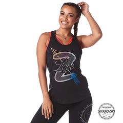 Zumba Loose Tank With Swarovski Crystals