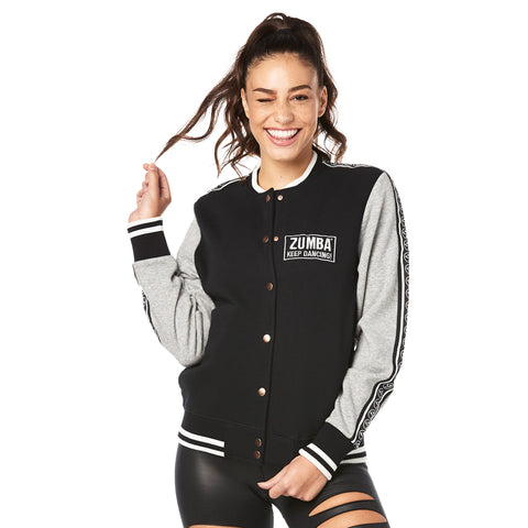 Zumba Keep Dancing Bomber Jacket