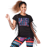 Dance Tribe Fringe Top
