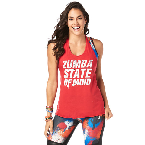 Zumba State Of Mind Halter Top