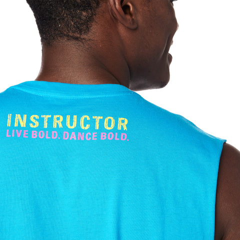 Dance Bold Instructor Muscle Tank
