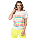 Zumba Dance In Color Tee
