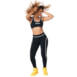 Zumba Revolution Piped Ankle Leggings