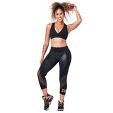 Zumba Dance Tribe Panel Crop Leggings