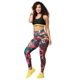 Spread Zumba Love High Waisted Laced Up Leggings