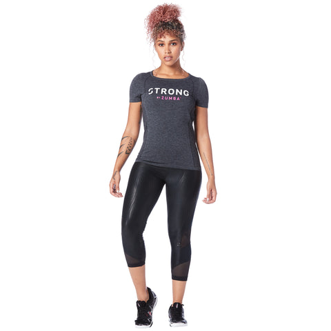 Don't Miss a Beat Seamless Instructor Top