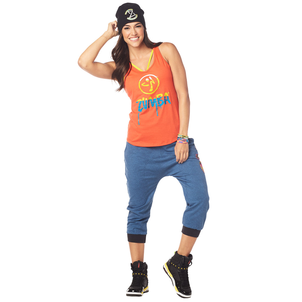 Dripping In Zumba Loose Tank  e8f6792b056