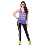Zumba Smile Bubble Tank
