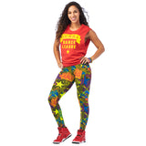 Zumba Dance League Instructor Muscle Tank