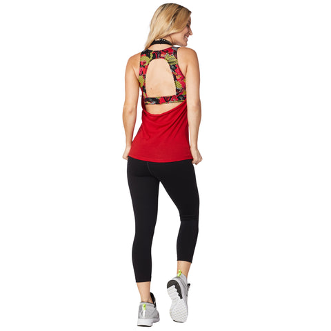 Rockin' Zumba Instructor Halter Top