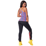 Zumba Tribe Cross Back Tank