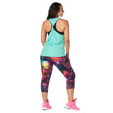 Zumba Constellation Twisted Back Tank