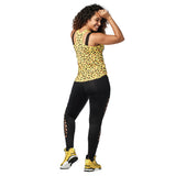 Wild For Zumba High Neck Tank
