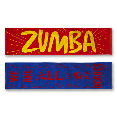 Everyone is a Super Hero Fitness Towels 2PK