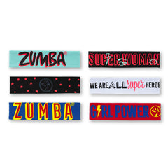 Zumba Power Reversible Headbands 3Pk