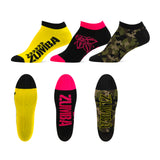 Z Army Ankle Socks 3 PK