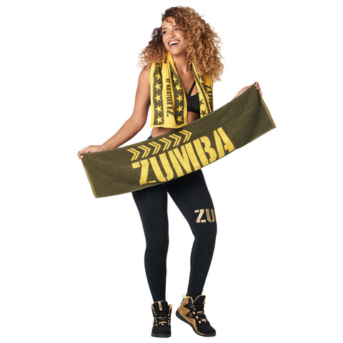 Zumba Instructor Fitness Towels 2 PK