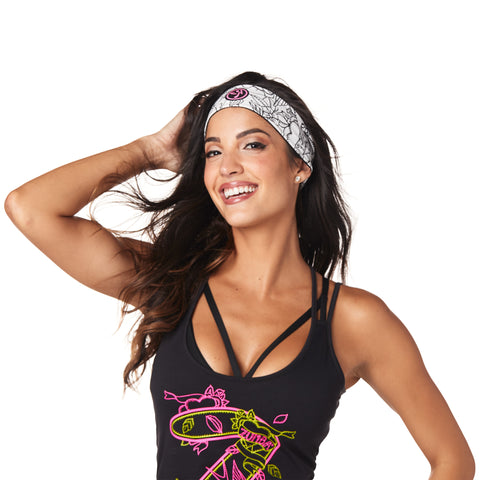 Zumba Reversible Headbands 3 PK