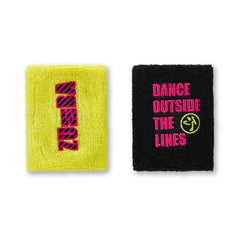 Dance Outside Wristbands 2 PK