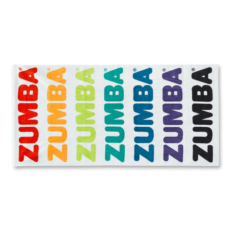 Zumba Seventies Beach Towel