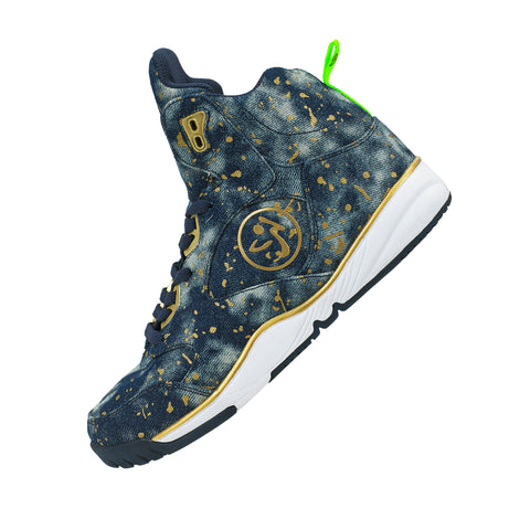 Zumba Energy Boom - Paint Splattered Denim