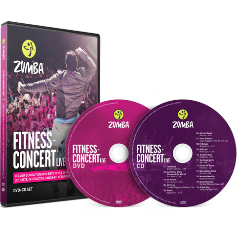 Fitness Concert Live DVD/CD
