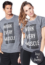 Work Every Muscle Tee