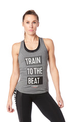 Train to the Beat Racerback
