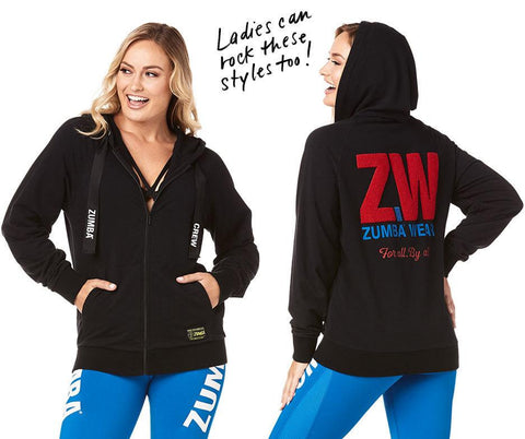 Zumba Wear For All Zip-Up Hoodie
