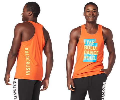 Dance Bold Men's Instructor Tank